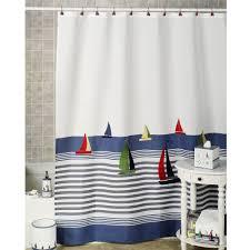Nautical Bathroom Set Bathroom Curtains Beach Or Nautical Theme