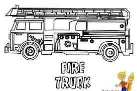 Fire Engine Coloring Pages Truck Page Beautiful Pdfo Colouring