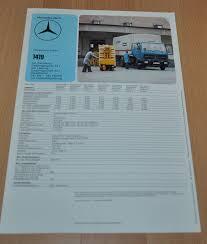 Email field should not be empty please enter a valid email address. Mercedes Benz 1419 Specification Technische Daten Lkw Truck Brochure Prospekt Auto Brochure