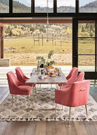10 insider tips an anthropologie stylist knows and you don t pink chairsfarmhouse dining roomsmodern
