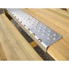 exterior stair treads and nosings. stairs, awesome metal stair nosing for tile silver with brown exterior treads and nosings