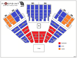Five Point Amphitheater Seating Chart Five Point Amphitheatre Seating Chart Related Keywords