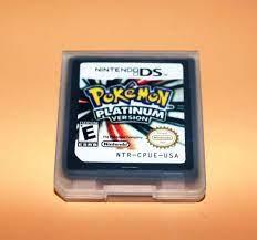 Amazon.com: Nintendo 3DS Pokemon:Platinum version (Nintendo 3DS,2009) Game  Only for DS / DSi / 3DS XL: Video Games