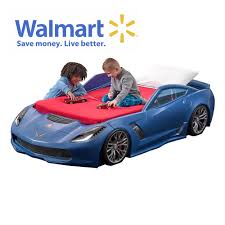 Corvette Z06 Toddler To Twin Bed - Blue