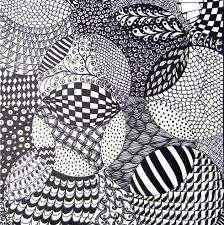 Pattern Drawing Inspiration Totally Easy Zentangle Craftwhack