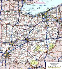 ohio road map