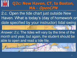 New Haven Tide Chart Electronics Offshore Homework Solutions Global Navigation