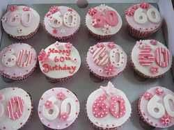 60th Birthday Cupcake Idea 60th Birthday Party Ideas 60th