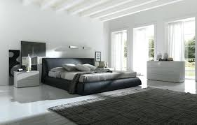 modern bedroom black and red. Black And White Modern Bedroom Contemporary Leather Upholstered Bed Design Red C