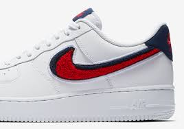 Nike air force 1 basse Men Nikes 3d Chenille Swoosh Is Coming To The Air Force Low Hypebeast Nike Air Force Low Chenille Swoosh 823511106 Sneakernewscom