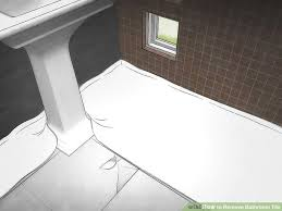 image titled remove bathroom tile step 1