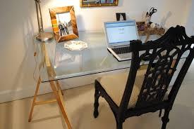 ... Fabulous Home Office Decoration Design With Ikea Glass Desks Interior  Ideas : Excellent Home Office Decoration ...