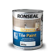 Can I Paint Bathroom Tile Amazing One Coat Tile Paint Ronseal