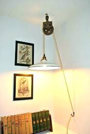 pendant light with plug swag in new lamps diy