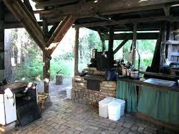rustic outdoor kitchen ideas backyard amazing best rustic outdoor kitchen