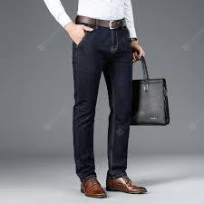 Men's Jeans 6928 Blue Black 36 Straight Jeans Sale, Price ...