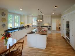 kitchen wooden flooring inviting white beaded inset custom cabinetry oak honed pertaining to 16