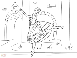 swan lake coloring pages swan lake ballet coloring page free printable coloring pages