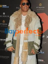 Vin Diesel Mumbai Premiere xXx Fur Coat Bayperfect