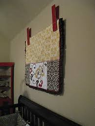 Quilt Clip DIY and a Video | Lobbies, Walls and Quilt display & Hanging quilts Adamdwight.com