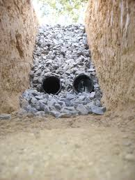 French Drain Wikiwand - Exterior drain pipe