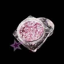 Glitter Hexagon Mix Světle Růžový G20