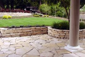 Small Picture 25 Great Stone Patio Ideas for Your Home Retaining walls
