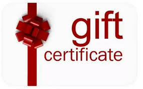 Gift Certificate Bravo Restaurant Cafe