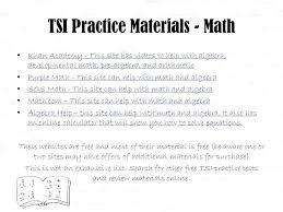 tsi prep math practice materials math tsi math test prep course
