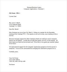 Personal Business Letter Gorgeous Business Letter Example For Students Blackmagicfb Com Courtnews