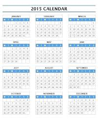 Calendar Template Printable 2015 One Page Calendar Template Yearly Free Printable Templates 2 2015