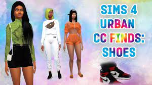 When you start surfing for sims shoes, whether your sim character is male or female or children. The Sims 4 Urban Cc Finds Shoes Part 2 Air Jordan 1 S Balenciagas Gucci Youtube