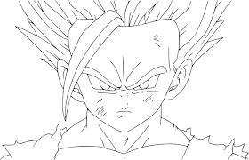 Coloriage Gratuit Du Manga Dragon Ball Z Imprimer Et Colorier S Dessin Coloriage A Dessiner Dragon Ball Z Vegeta Super SaiyanL
