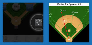 Chart Game App Quicker Access To Spray Charts Scoring In The Park Homers