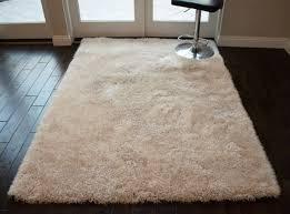 fluffy fuzzy beige modern gy bedroom living room 5x7 rug carpet for