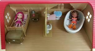 Sylvanian Families Bedroom Furniture Set Jane Chacrie Strawberry Shortcake Mini Dolls And Sylvanian Families