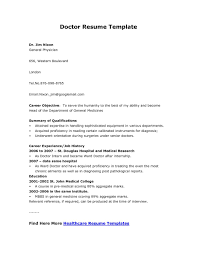 Medical Resume Format Clinical Medical Research Resume Example