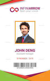Identification Card Samples 007 Identification Card Templates Free Download Template