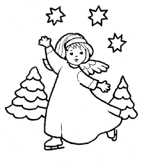 free printable angel coloring pages for kidschristmas angel coloring page