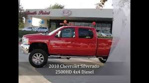 SOLD**2010 Chevrolet Silverado 2500HD LTZ 4x4 Diesel w/ 6in lift ...