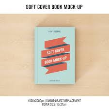 book cover mock up design free psd