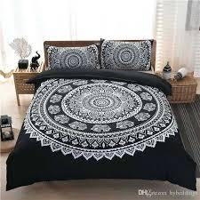 boho bedding twin xl girls bedding luxury black mandala bedding set bohemian duvet cover set exotic