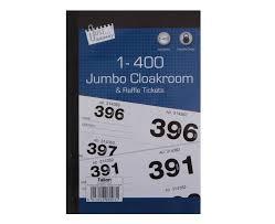 images of raffle tickets jumbo cloakroom raffle tickets 1 400 cloakroom tickets