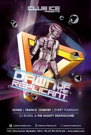 Club Flyer Templates Free Free Artistic Club Flyer Templates For Dubstep Dance On