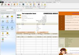 Create A Commercial Invoice Commercial Invoice For Export In Excel