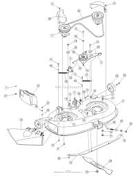 Mtd 13am762f765 2007 parts diagram for deck assembly 38 inch bolens 15 hp cut mower wiring
