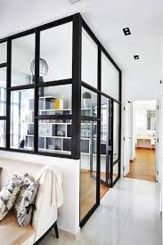 19 glass partitions for dividing a room