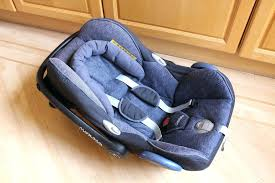 car seats maxi cosi cabriofix baby car seat blue with mount base instructions