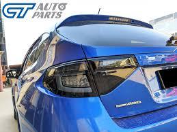 Details About Black Edition 3d Dynamic Indicator Led Tail Light For 08 13 Subaru Impreza Wrx R