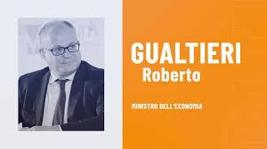 Festival Economia Trento - Il ministro dell'economia ROBERTO GUALTIERI al  Festival